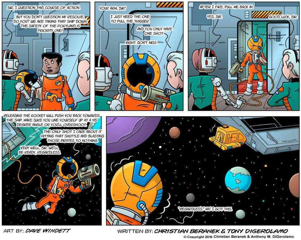 Intergalactic Medical Doctor:  Spacesuit Ahoy