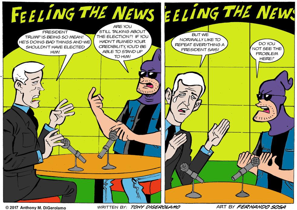 Tony Destructo:  Credibility