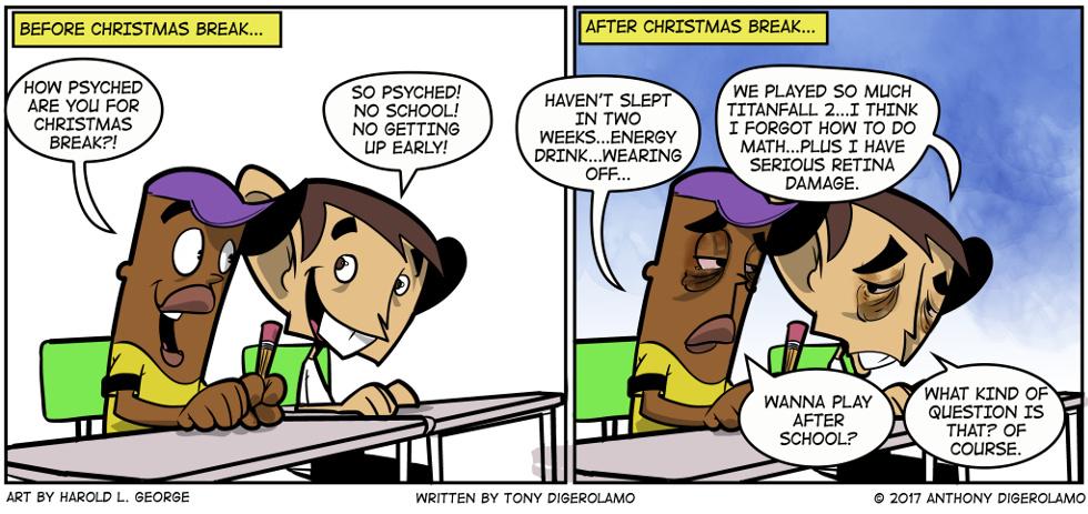 I Hate My Kids:  Gaming Break