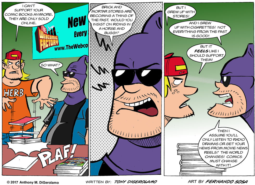 Tony Destructo:  Old Time Fanboys