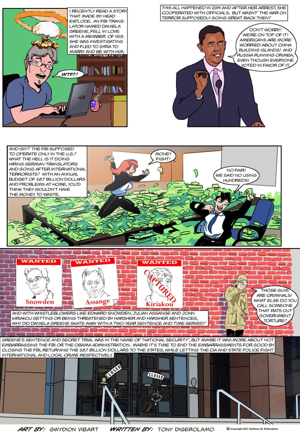 The Antiwar Comic:  Wanna Hear a Love Story?