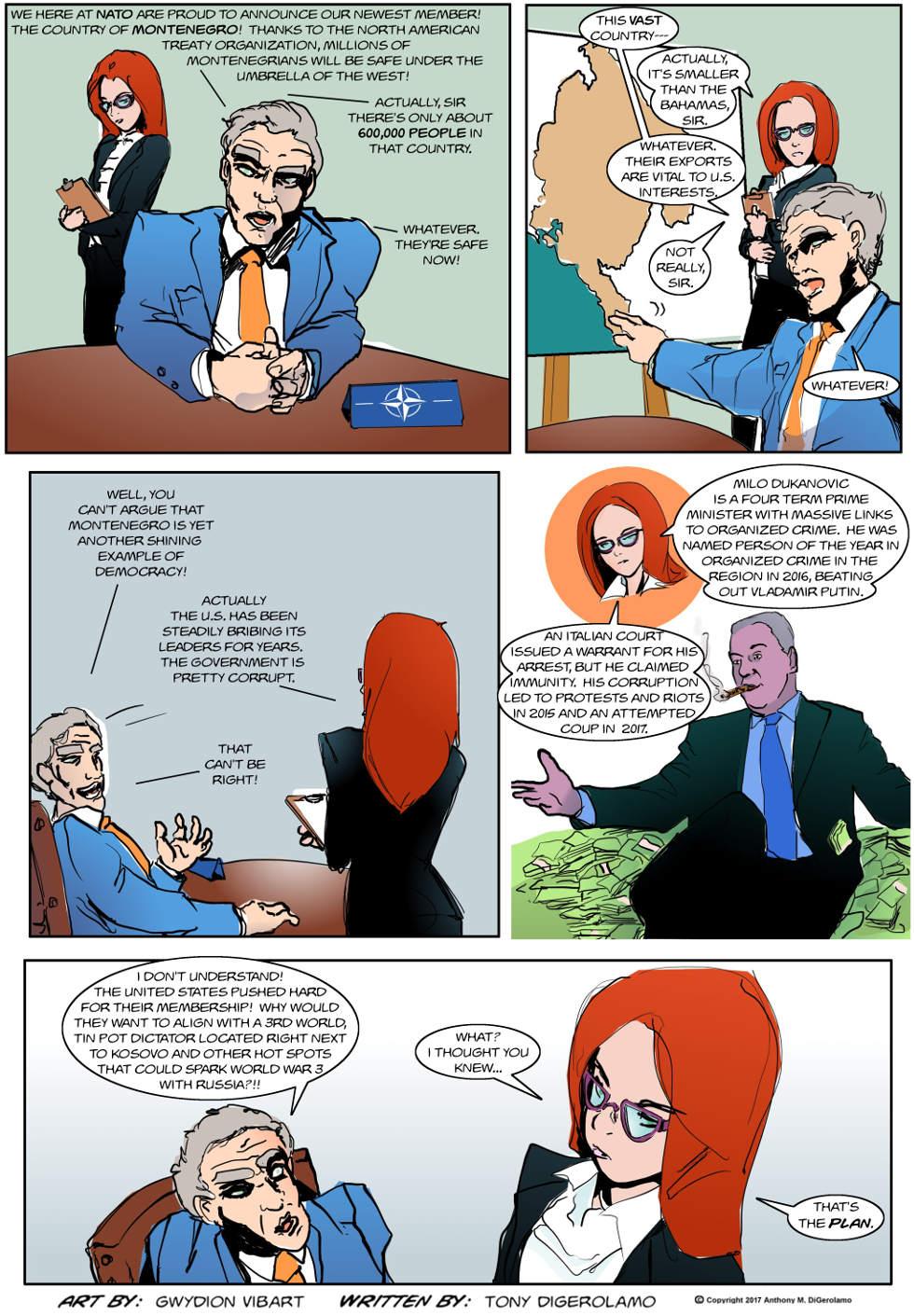 The Antiwar Comic:  Tripwire