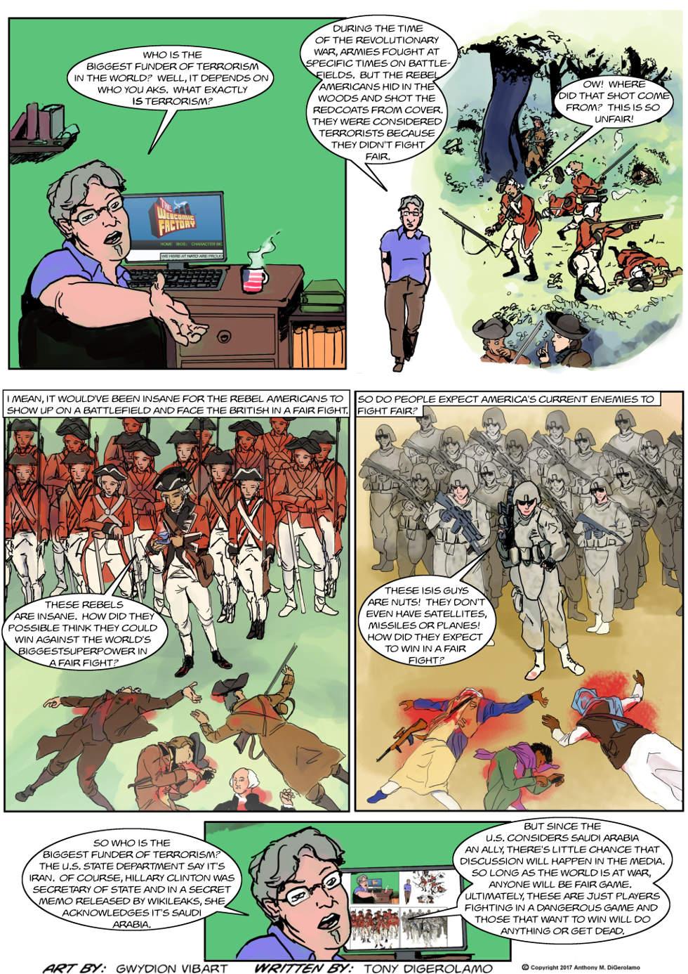 The Antiwar Comic:  What is Terrorism?