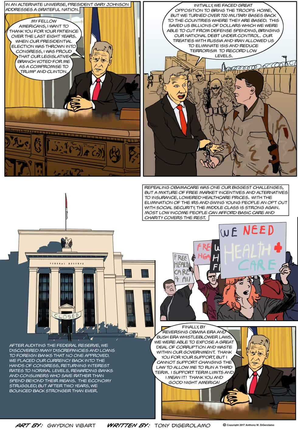 The Antiwar Comic:  It's All Part of my Libertarian Fantasy