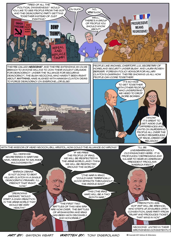 The Antiwar Comic:  Neocon Nation