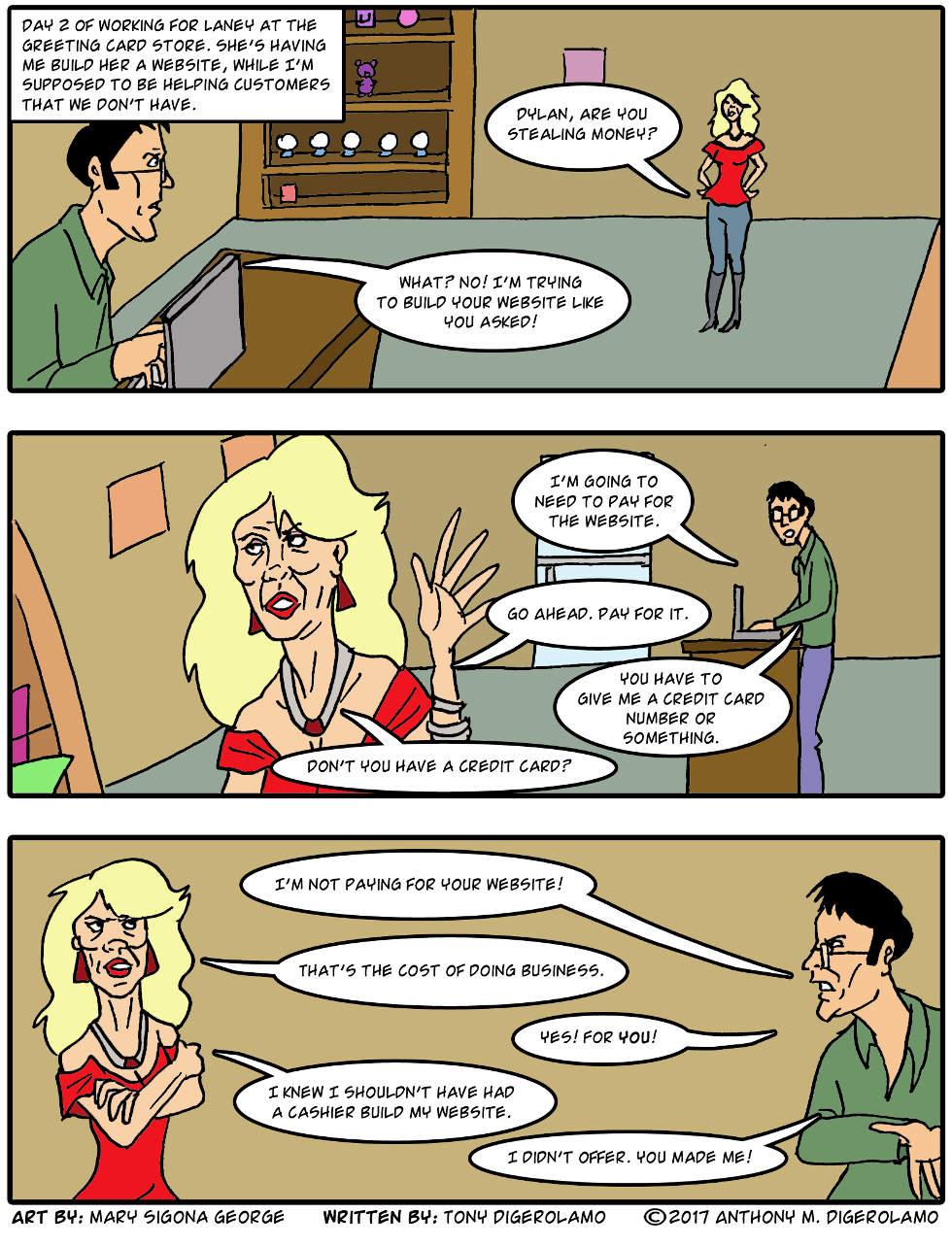 digital hobo:  Two Jobs in One