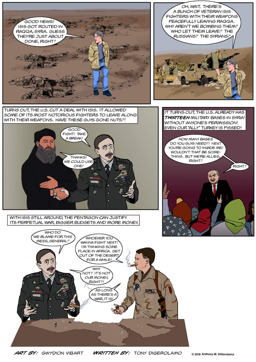 The Antiwar Comic:  Peace for More War