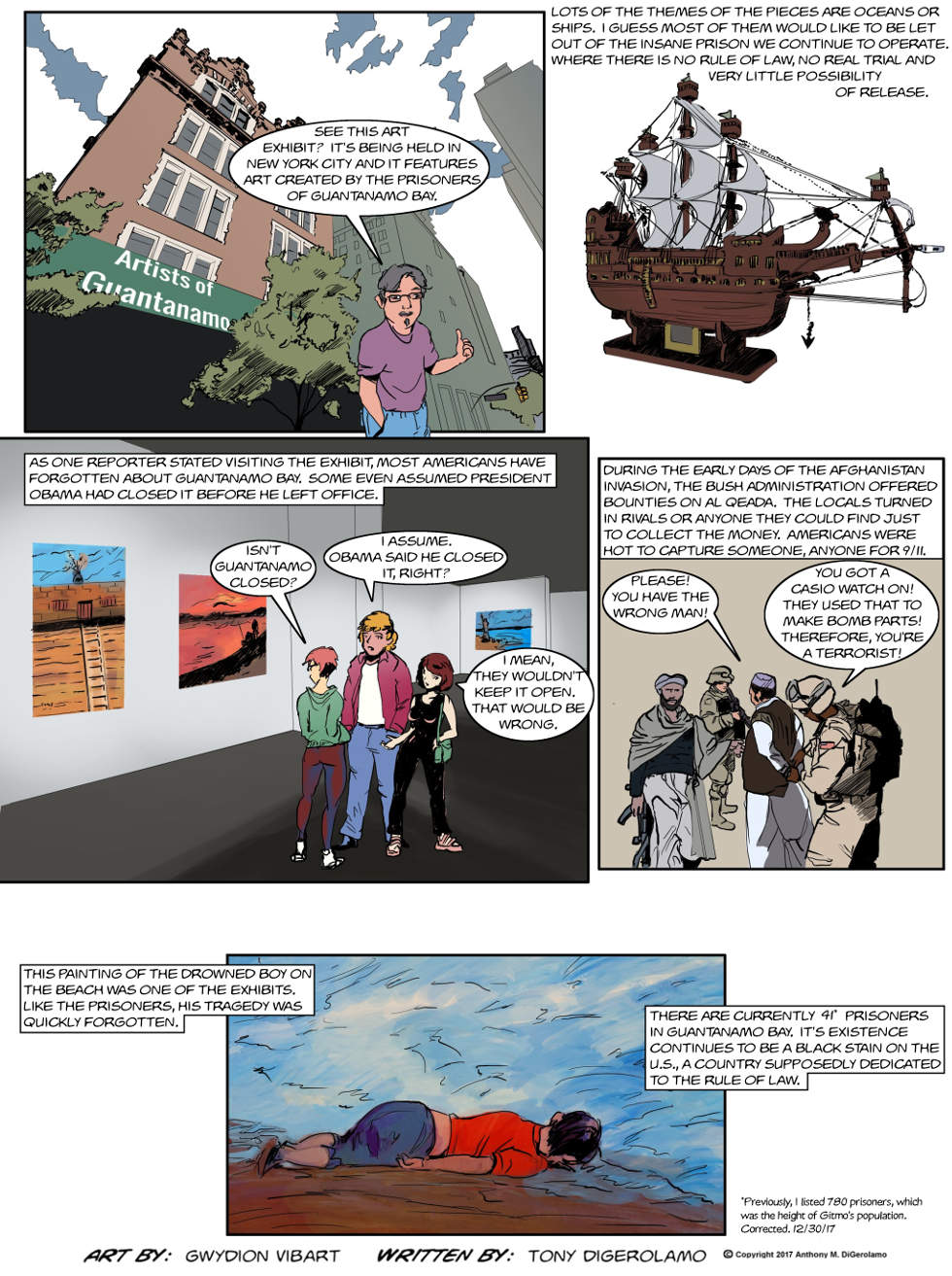 The Antiwar Comic:  Ghost Artists
