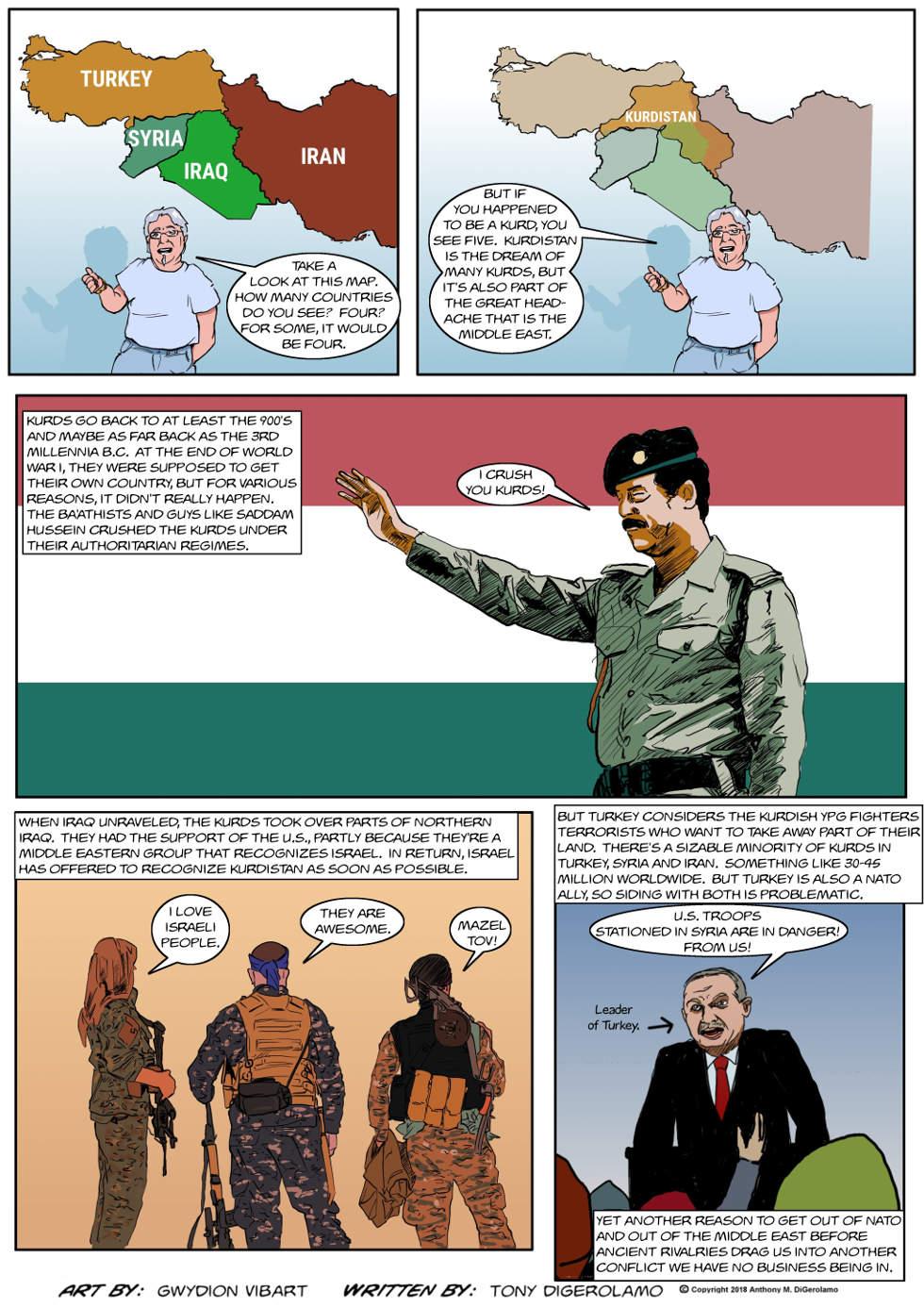 The Antiwar Comic:  Where is Kurdistan?