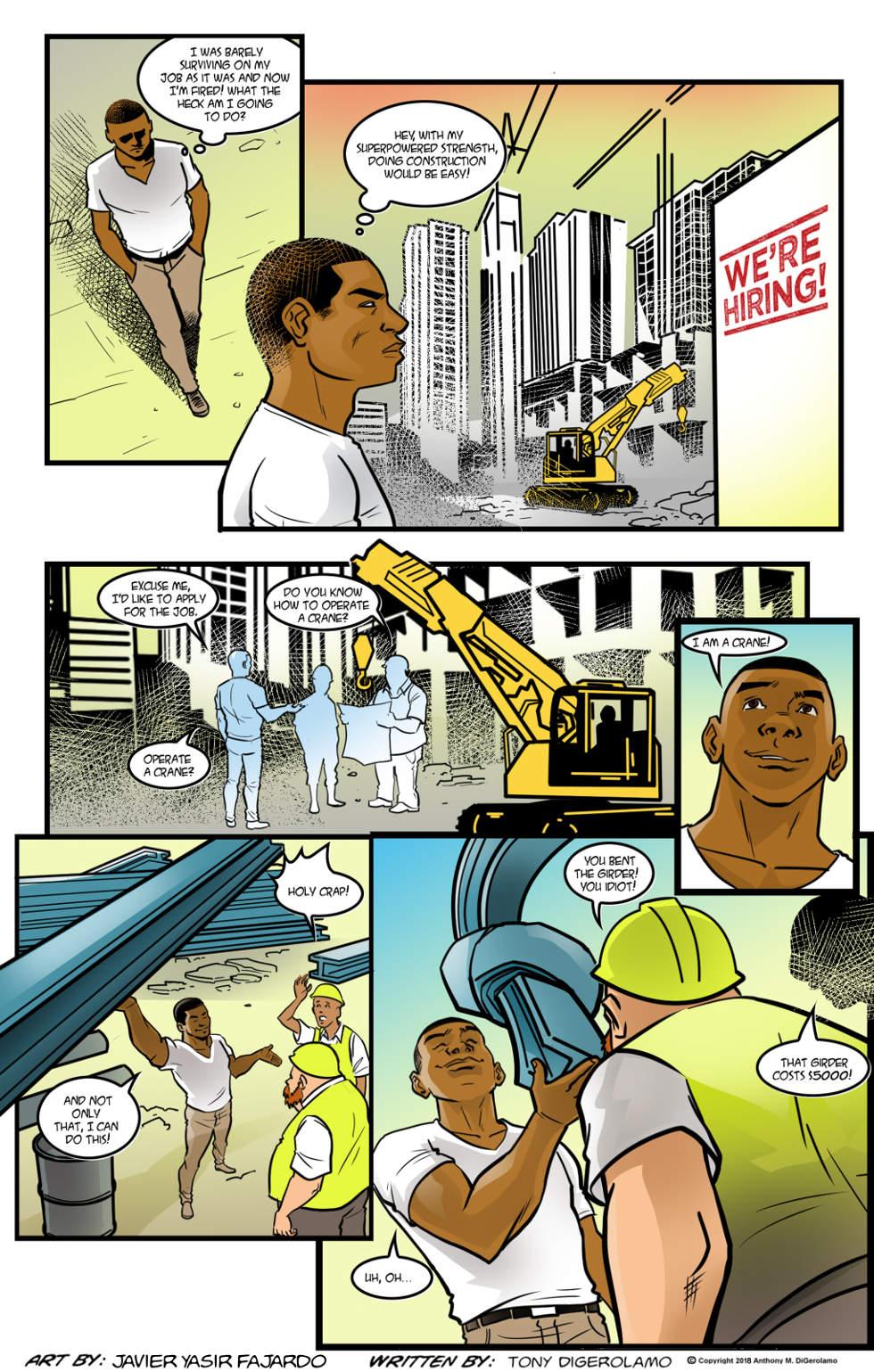 Herman Has Superpowers:  Working Class Hero