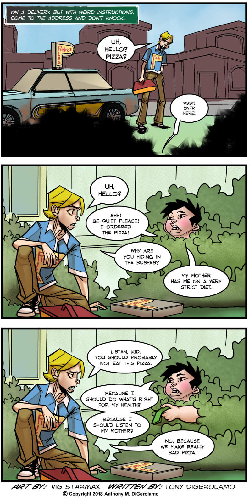 Tales of Pizza:  Forbidden Pizza