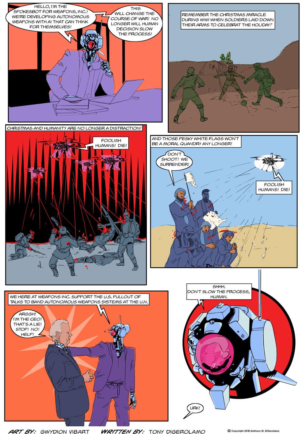 The Antiwar Comic:  Streamline the Process