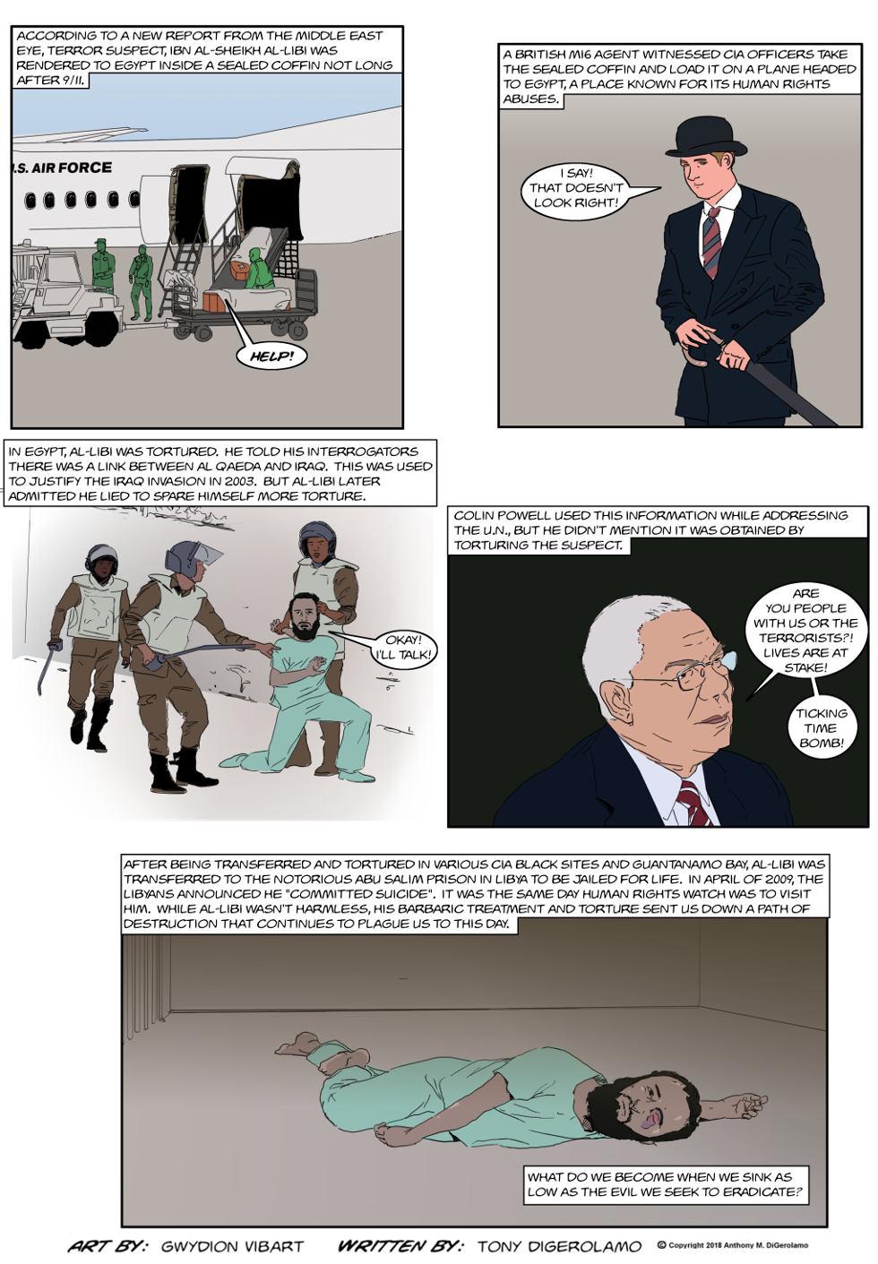 The Antiwar Comic:  Torture Still Doesn't Work