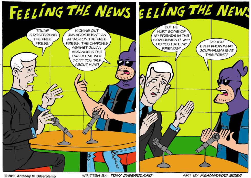 Tony Destructo:  Free the Press