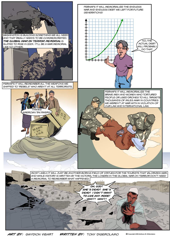 The Antiwar Comic:  The Global War on Terror Memorial