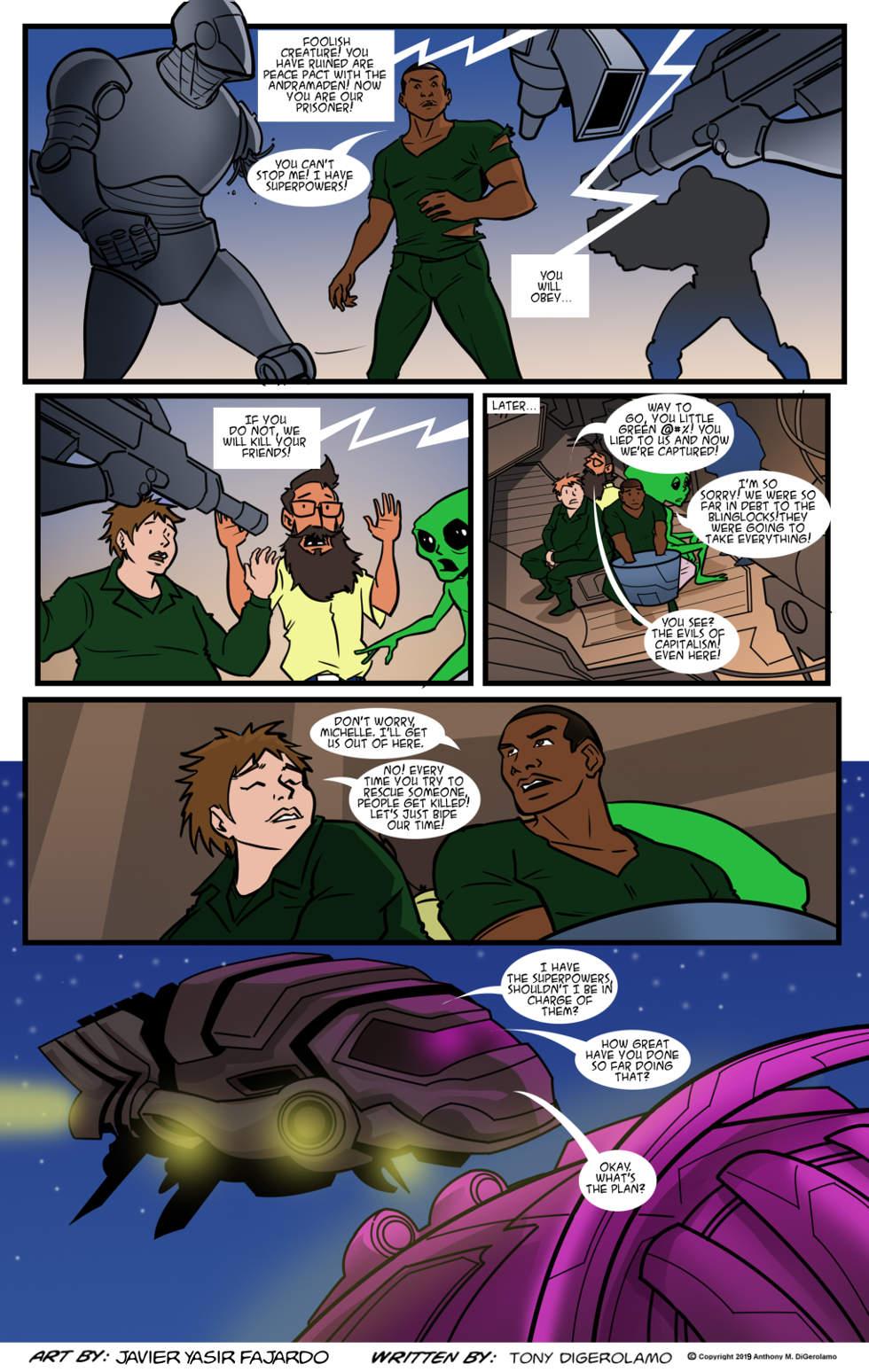 Herman Has Superpowers:  The Alien Exchange