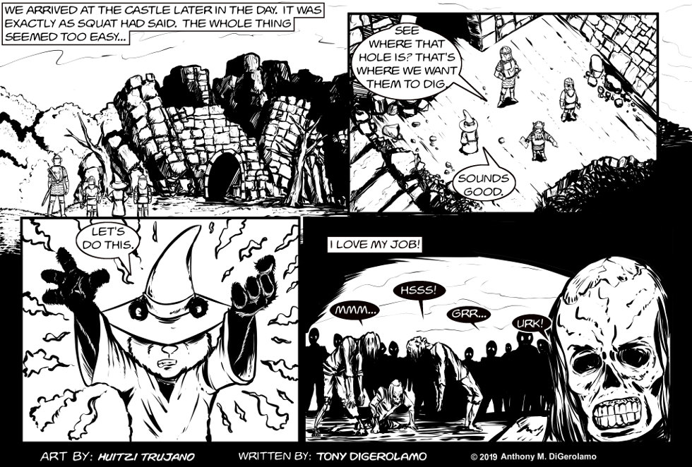 Pandamodium:  Undead Employees