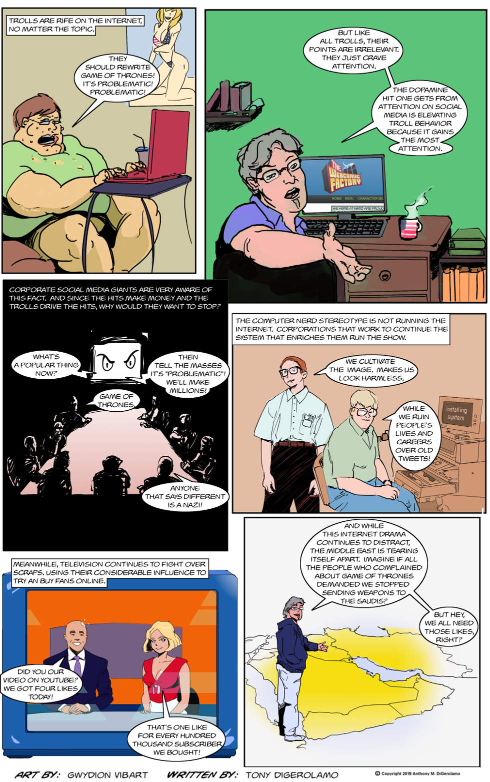 The Antiwar Comic:  We Are All Trolls