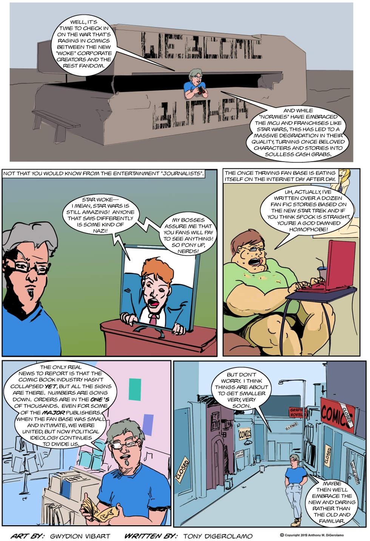 The Antiwar Comic:  The Great Comic Book War