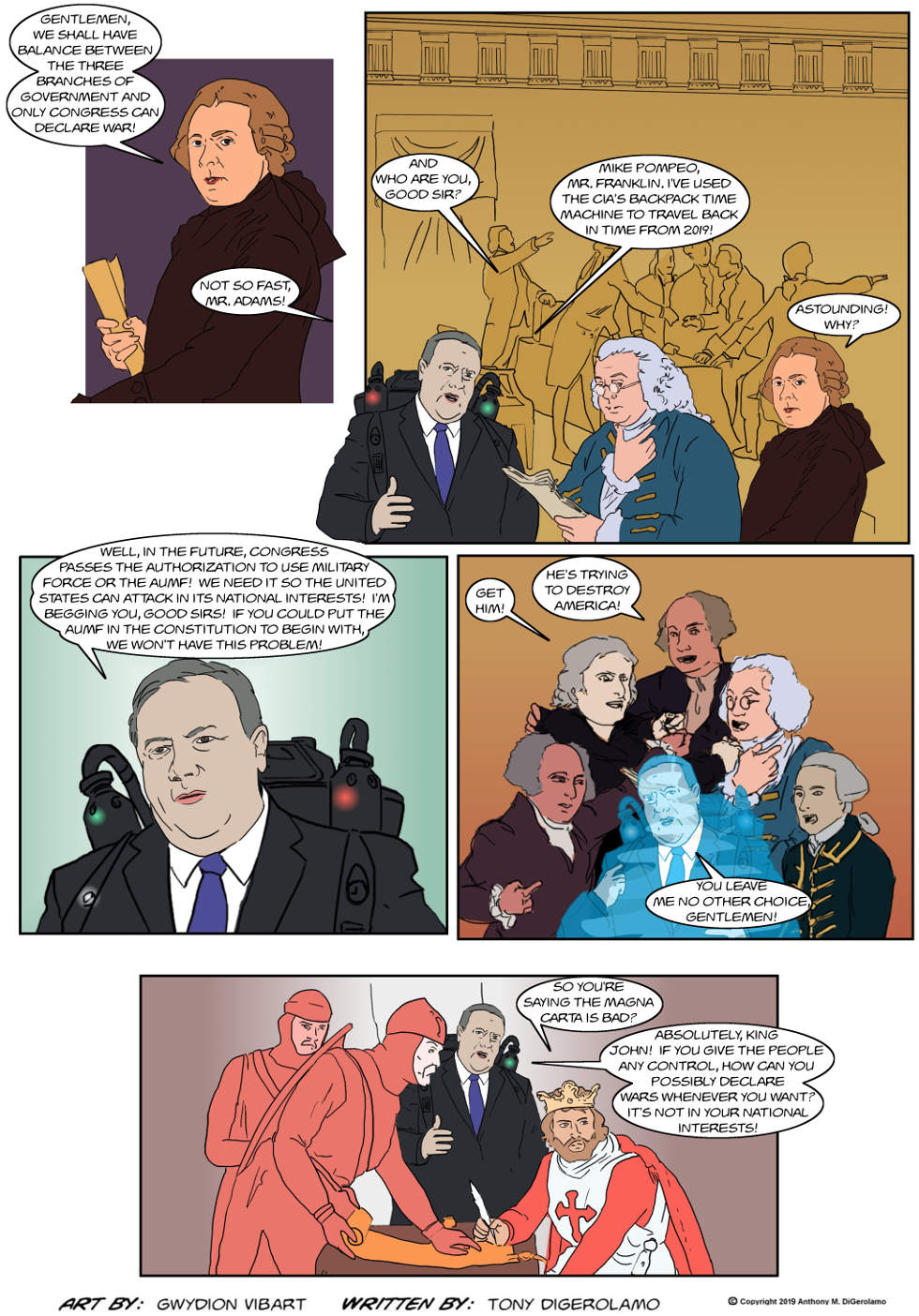 The Antiwar Comic: Fixing the Constitution