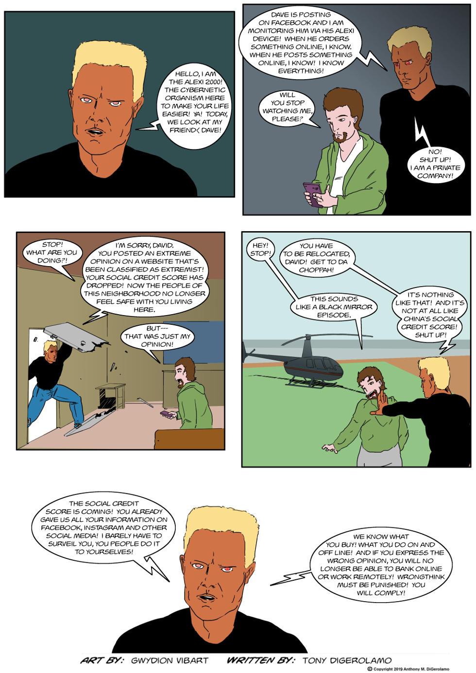 The Antiwar Comic:  Every Breath You Take