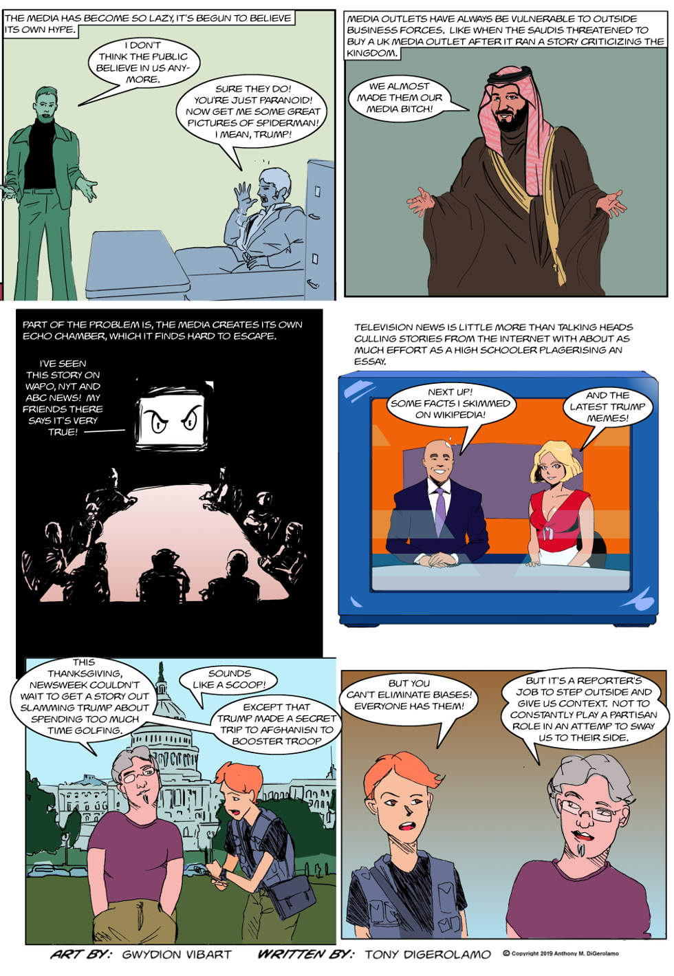 The Antiwar Comic:  The Broken Media