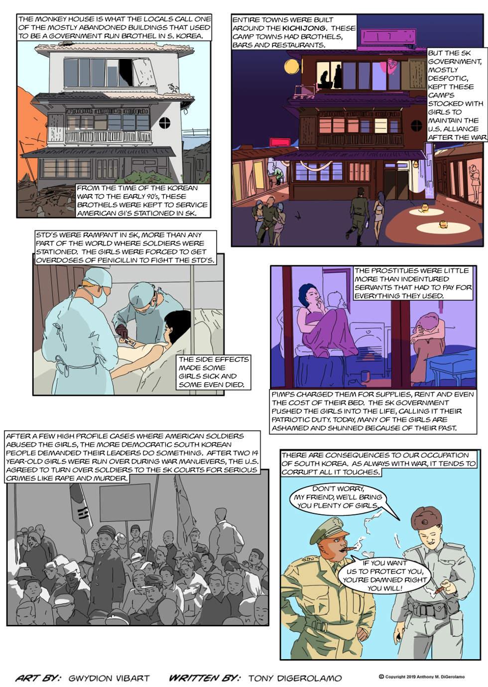 The Antiwar Comic:  The Monkey House