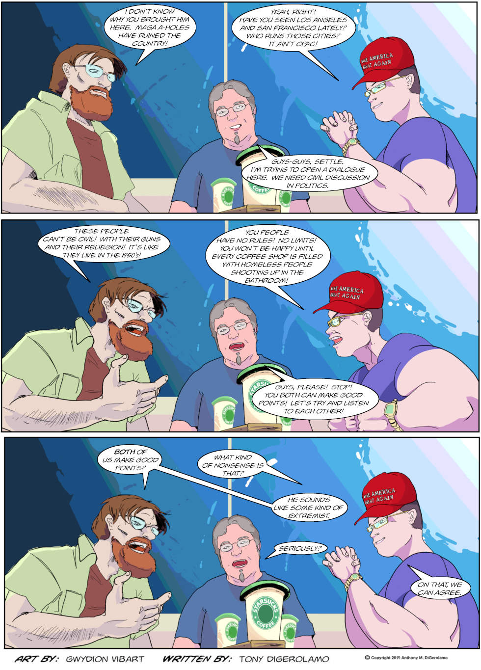 The Antiwar Comic: The Extremist
