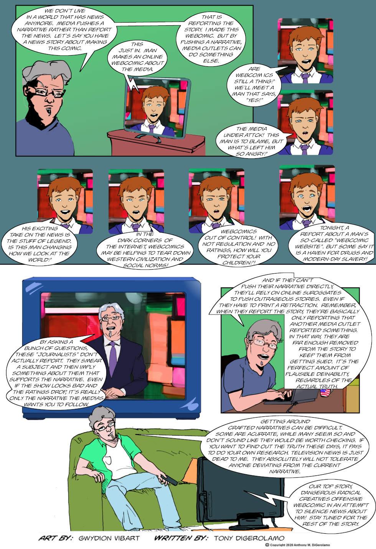 The Antiwar Comic:  The Narrative