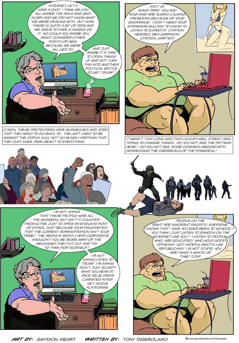 The Antiwar Comic:  The Civility War