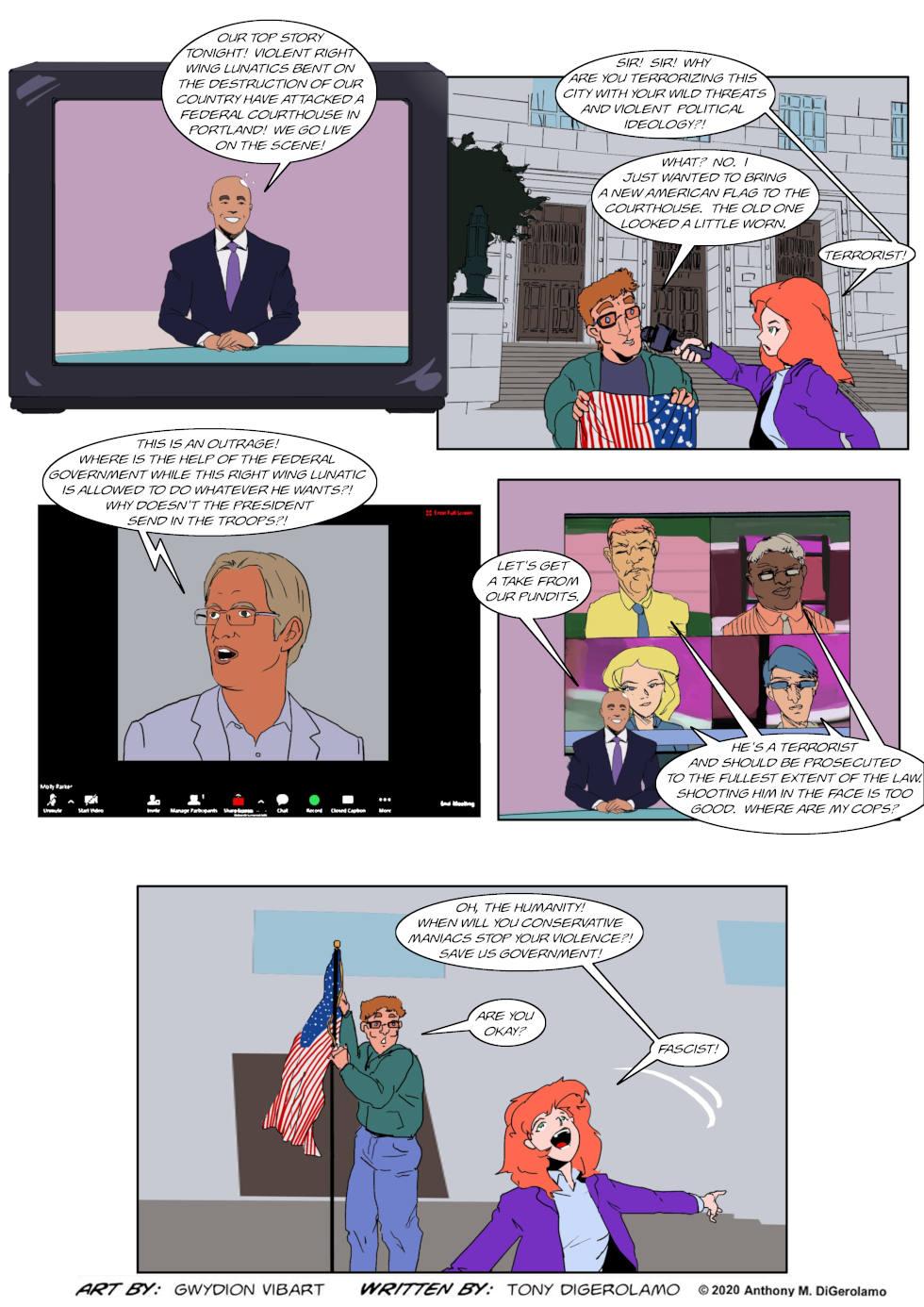 The Antiwar Comic:  The War For Portland