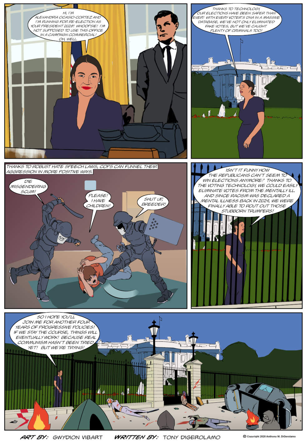 The Antiwar Comic:  It Never Works