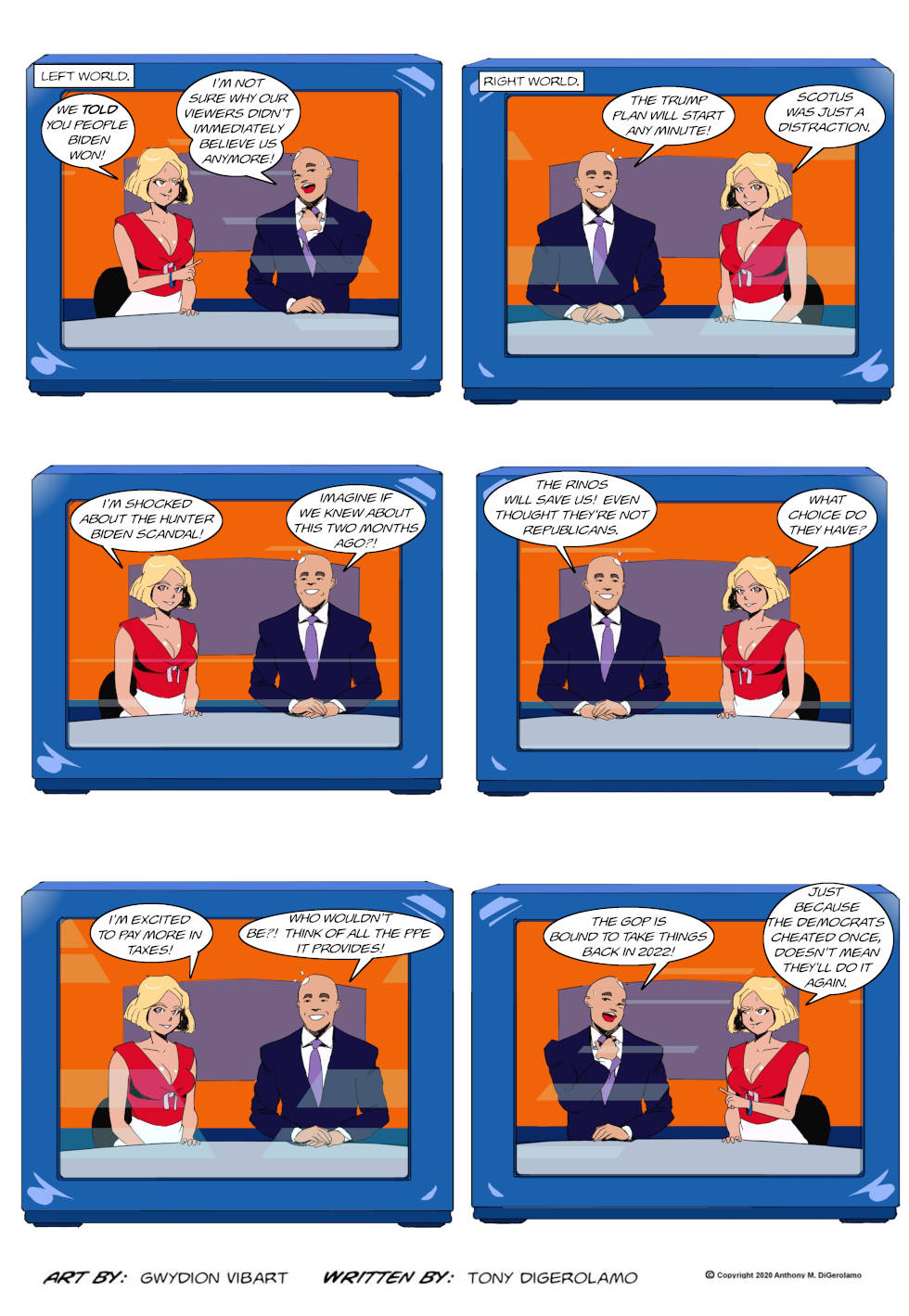 The Antiwar Comic:  Gap Grows Wider