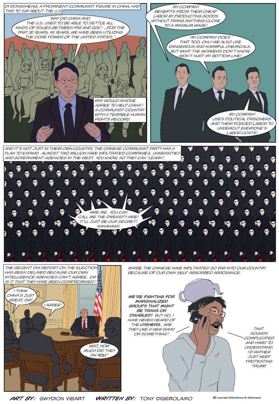 The Antiwar Comic:  China is A-Hole