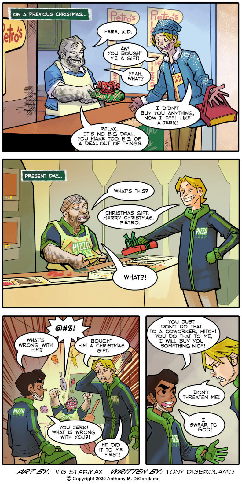 Tales of Pizza: Co-Worker Conundrum