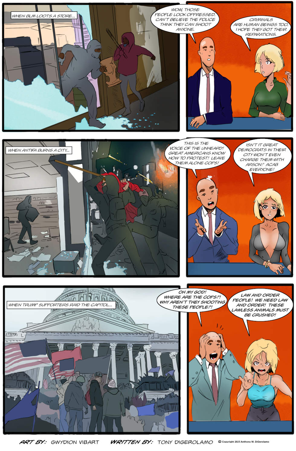 The Antiwar Comic:  One Man's Protester…