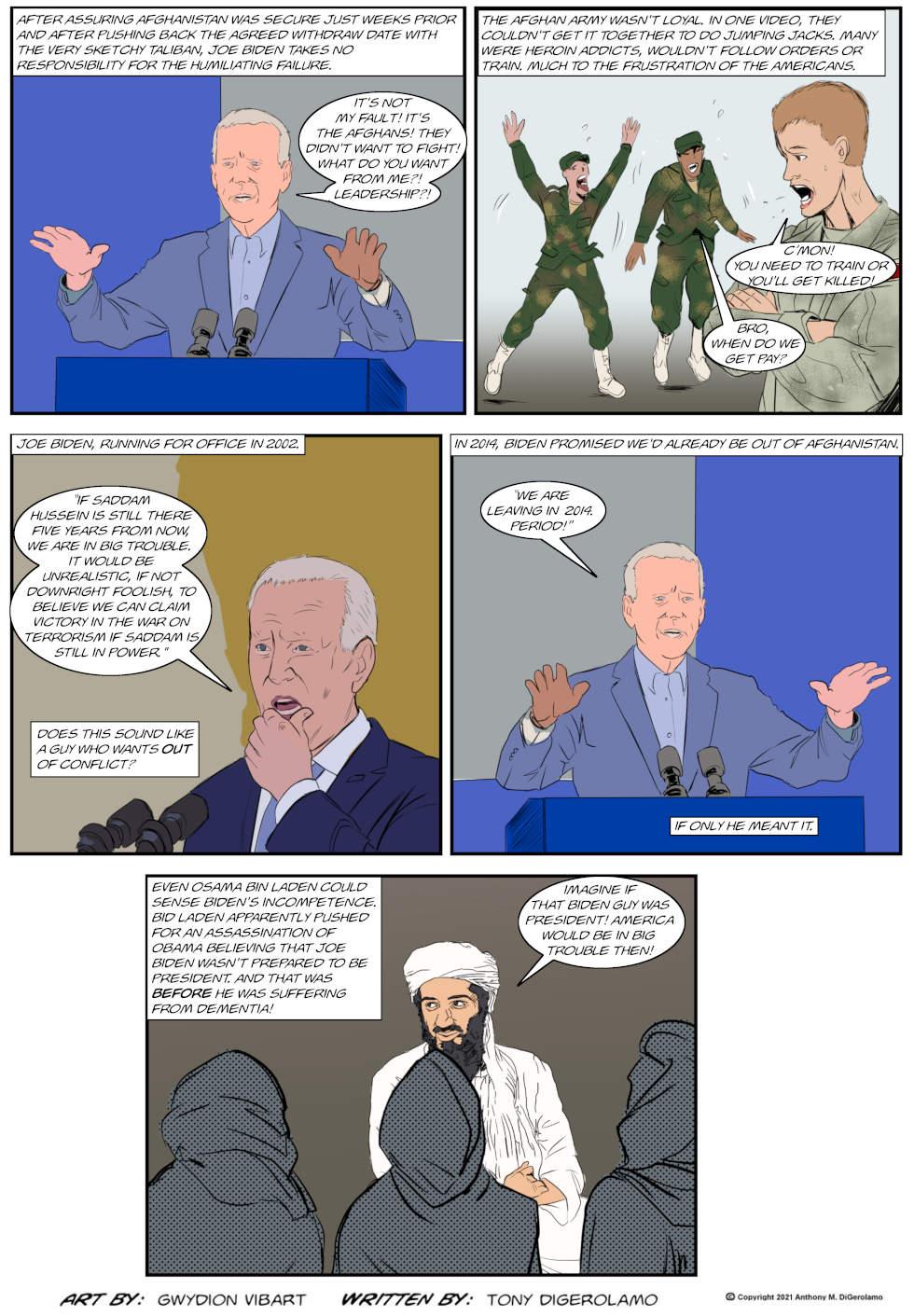 The Antiwar Comic: Everyone Saw It Coming