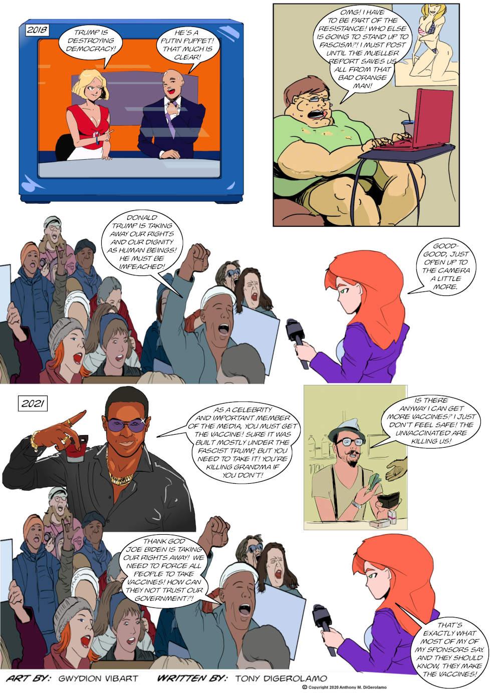 The Antiwar Comic: Rinse and Repeat
