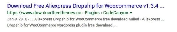 Alidropship Woo Nulled Google Search Results Continue