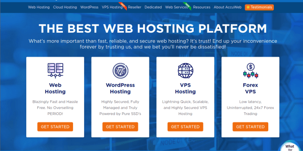 Accuweb Hosting - Overall best