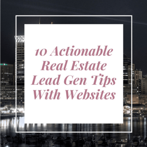 real estate lead generation websites