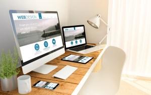 Real estate website creation