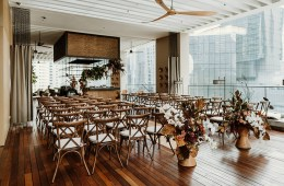 Interesting wedding ceremony venue in Kuala Lumpur - The RuMa Hotel and Residences. www.theweddingnotebook.com