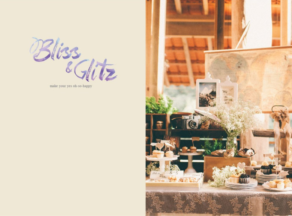 Bliss & Glitz. www.theweddingnotebook.com