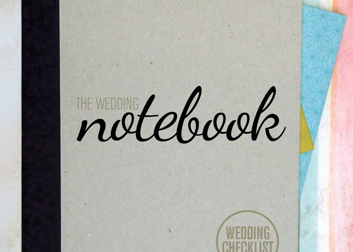the wedding notebook wedding checklist