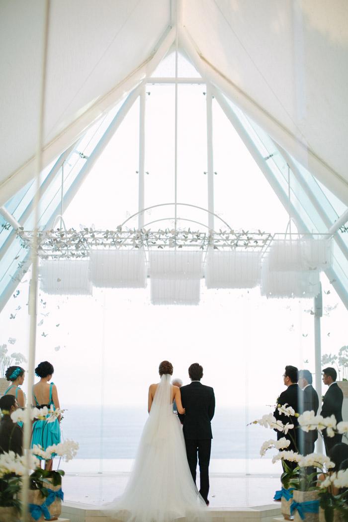 Wedding Ceremony at Tirtha Uluwatu. Evermotion Photography. www.theweddingnotebook.com