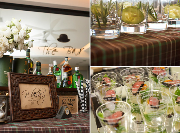 Event Styling by Mint Events & Soirees. www.theweddingnotebook.com
