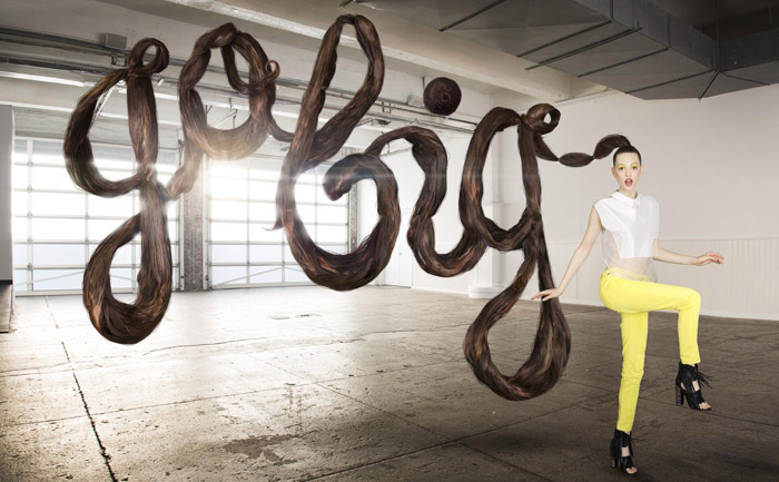 Sagmeister & Walsh for Aizone. Photography by Henry Hargreaves