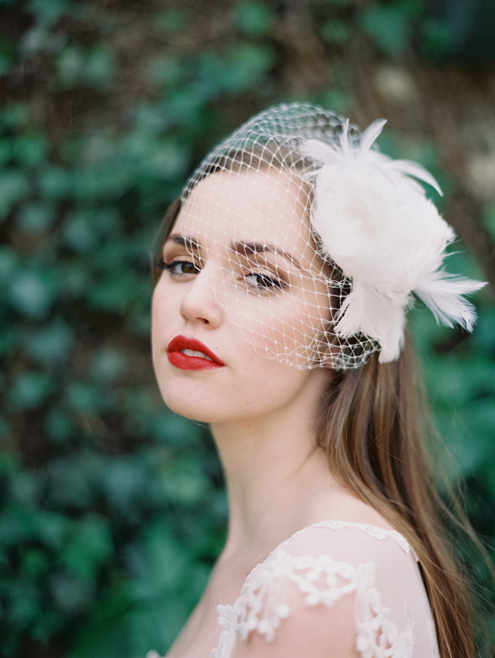 Enchanted Atelier by Liv Hart SS 2014 Collection – Madelain Cage Veil