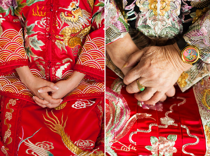 The Traditional Chinese Wedding Qun Kua. Photography Wainwright Weddings. www.theweddingnotebook.com